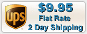 Flat Rate Two Day Shipping