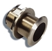 Raymarine B117 Low Profile Bronze Thru-Hull Transducer for Clearpulse Sonar
