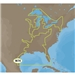 C-MAP MAX-N Wide NA-N023 Gulf of Mexico, Great Lakes and Rivers for Navico