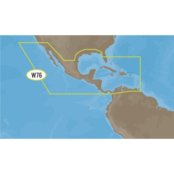 C-MAP 4D Full Wide NA-D027 Gulf of Mexico and Central America on SD