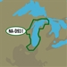 C-MAP 4D Local Chart - Lake Michigan
