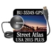 Delorme Street Atlas USA 2015 Plus with GPS Antenna