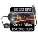 Delorme Street Atlas USA 2013 Plus with GPS Antenna