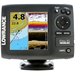 Lowrance Elite 5 CHIRP  Basemap with 83/200 & 455/800 Transducer