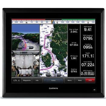 Garmin GMM 170 Glass Helm Display