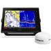 Garmin GPSMAP 7612xsv GXM 52 Weather Bundle