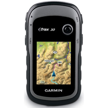 Garmin eTrex 30 Compact Handheld GPS with Electronic Compass