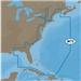 C-MAP MAX Wide NA-M022 East Coast and Bahamas on SD