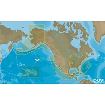 C-MAP MAX-N US Coastal and Rivers for Navico