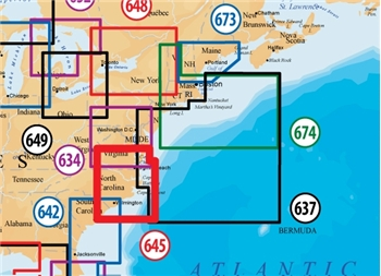 Navionics Platinum Plus XL 645P+ - N. Carolina on SD