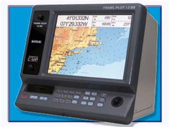 "Sitex Trawl Plot 12 SD 12.1"" Chartplotter"