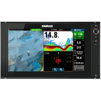 Simrad NSS16 Evo2 Chartplotter Fishfinder MFD P4029 on gps receiver tracking sensitivity
