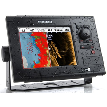 The gps store inc gps systems marine electronics for Simrad fish finder