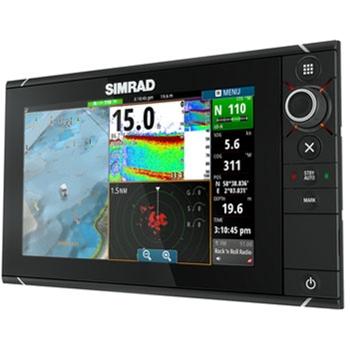 Simrad nss9 evo2 chartplotter fishfinder mfd for Simrad fish finder