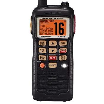 Standard Horizon HX851 VHF with GPS