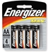 4 Pack AA Energizer Batteries