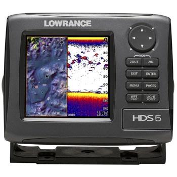 Lowrance wont read bottom sonar