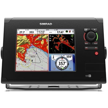 Simrad nss8 touch screen gps fishfinder combination for Simrad fish finder