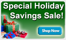 Special Holiday Savings Sale