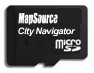 Garmin City Navigator Benelux and France on microSD/SD