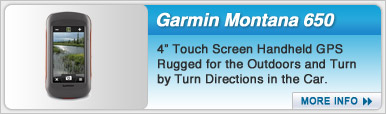 Garmin Montana 650 Touch Screen Handheld GPS