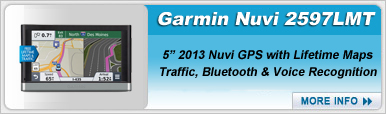 Garmin Nuvi 2597LMT Portable Navigation Device