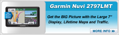 Garmin Nuvi 2797LMT Portable Navigation Device
