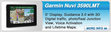 Garmin Nuvi 3590LMT Portable Navigation Device
