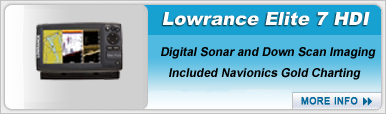 Lowrance Elite 7 Gold HDI