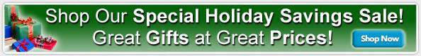 Holiday Savings Sale