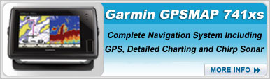Garmin GPSMAP 741xs with Transducer