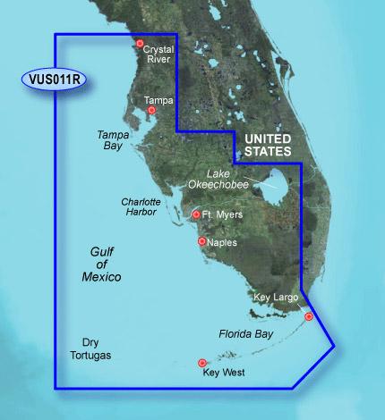 Garmin BlueChart g2 Vision Southwest Florida vus011r