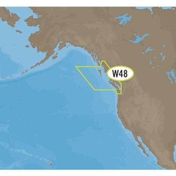 C-MAP MAX Wide NA-M025 Canada West on SD