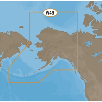 C-MAP MAX Wide NA-M028 Alaska on SD
