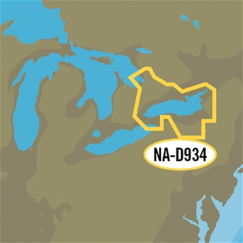 C-MAP 4D Local Chart - Lake Ontario and Trent Severn Waterway