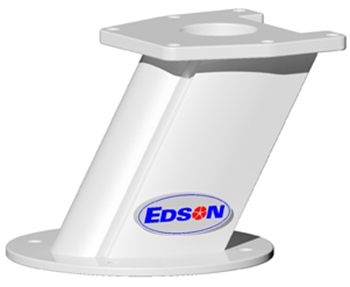 Edson Vision Series 6 inch Angled Radar Mount Base Only