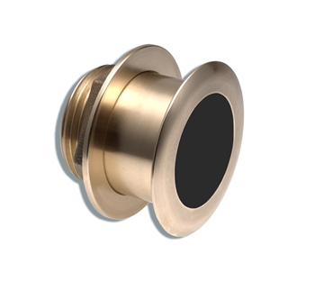 Furuno B164 0 Degree Bronze 1kw Low Profile Thru-Hull Xducer with Temp