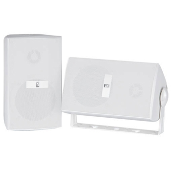 Poly-Planar MA3030 White Box Speaker - Set of Two