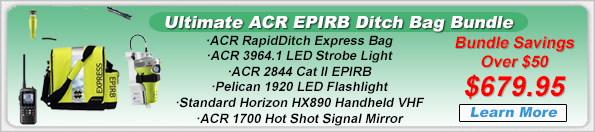 ACR EPIRB Ultimate Ditch Bag Bundle