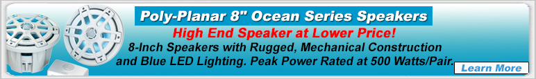 PolyPlanar Ocean Series Speakers