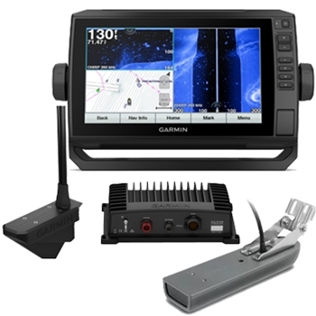 Garmin ECHOMAP Plus 94sv LiveScope Bundle