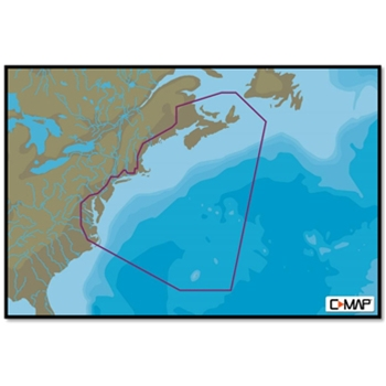 C-MAP MAX-N+ Wide NA-Y062 Nova Scotia to Chesapeake