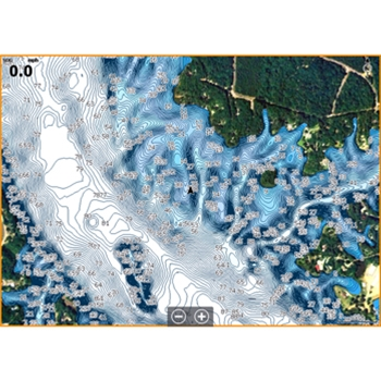 C-MAP Precision Contour HD Chart - Alabama