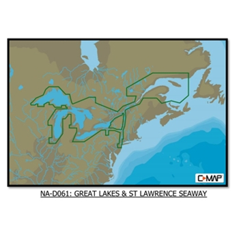 C-Map 4D Great Lakes St. Lawrence Seaway