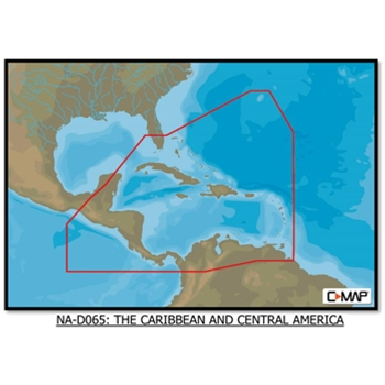 C-Map 4D The Caribbean and C. America