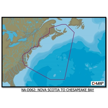 C-Map 4D Nova Scotia to Chesapeake Bay