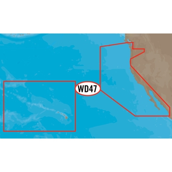 C-MAP 4D NA-D024 West Coast and Hawaii