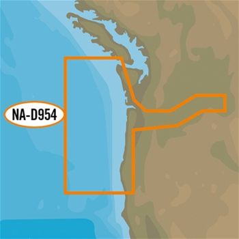 C-MAP 4D Local Chart - Cape Blanco to Cape Flattery