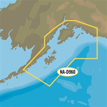 C-MAP 4D Local Chart - Prince William Sound, Cook Inlet and Kodiak Island