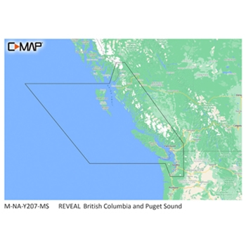 C-MAP Reveal NA-Y207 British Columbia and Puget Sound